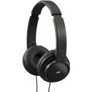 JVC HA-S200 Foldable Lightweight Portable Over-Ear Headphones - Black