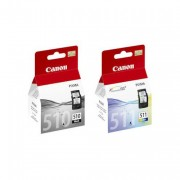 Canon PG-510 Black and CL-511 Colour Combo pack ( 2970B001 , 2972B001 )