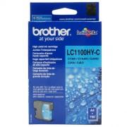 Brother LC1100HYC High Cyan Ink Cartridge (BRLC1100HYC)